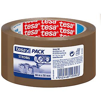 Tesa Strong Pp Pack Acrylic Silent Brown 66Mx50Mm (DIY , Hardware)
