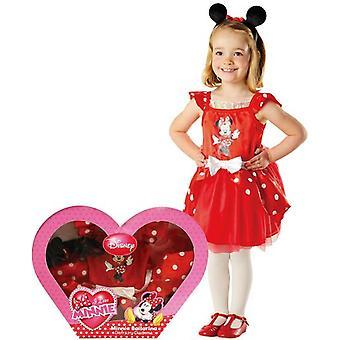 Rubie Minnie Mouse kostyme danser i boksen (babyer og barn, kostymer)
