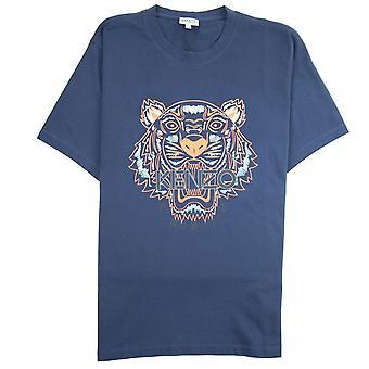 Kenzo Tiger T-paita laivastonsininen/oranssi