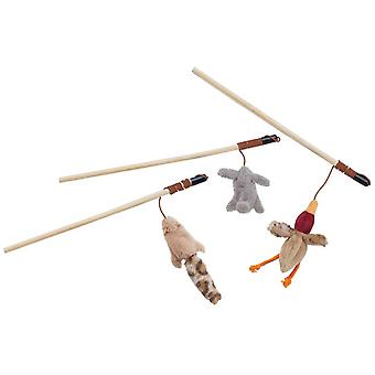 Skinneeez Forest Friends Wand For Cats 12