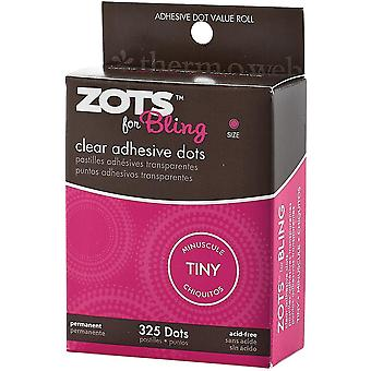 Zots For Tiny Bling Clear Adhesive Dots 3770