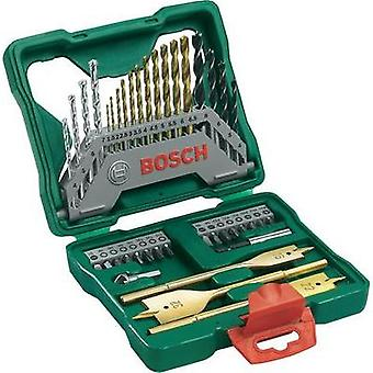 Universal drill bit set TiN 40-piece Bosch Accessories X-Line