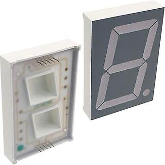 Seven-segment display Green 56.9 mm 8.4 V No. of digits: 1