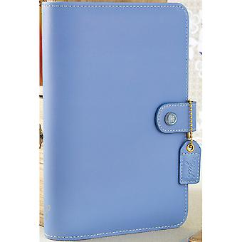 Color Crush Faux Leather Personal Planner Binder 5.25