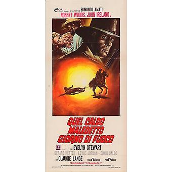 De Gatling Gun filmaffischen (11 x 17)