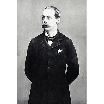 Lord Randolph Churchill 1849 To 1895 Father Of Sir Winston S Churchill From A Roving Commission By Winston S Churchill Published By Scribners 1930 PosterPrint