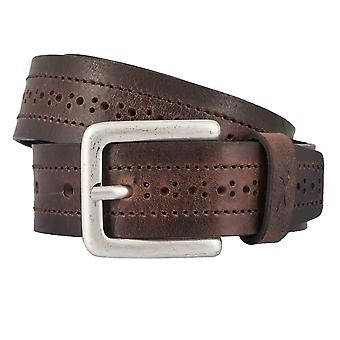 BRAX belts men's belts leather belt cowhide Brown 2348