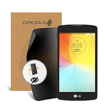Celicious Privacy LG G2 Lite 2-Way Visual Black Out Screen Protector