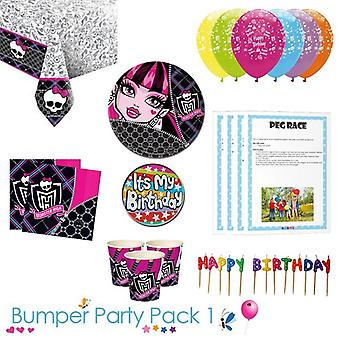 Monster High Party Tableware paraurti Pack 1