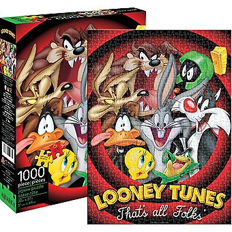 Looney Tunes That's All Folks 1000 piece jigsaw puzzle  690mm x 510mm (nm)