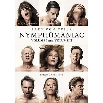Nymphomaniac Vol 1 & Vol 2 [DVD] USA import