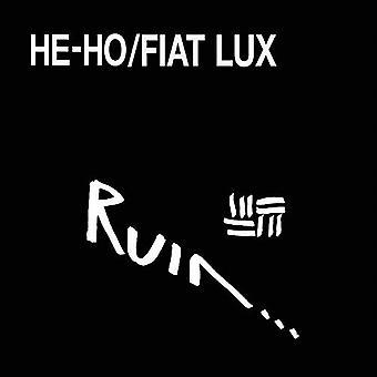 Ruin - han-Ho / Fiat Lux [Vinyl] USA import