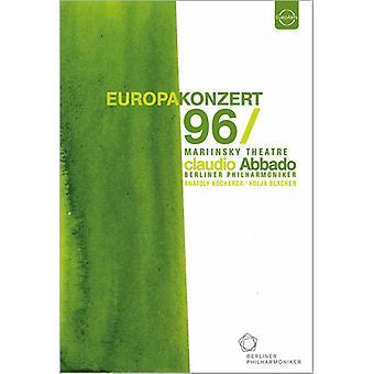 Europakonzert 1996 fra st. Petersborg [DVD] USA importerer