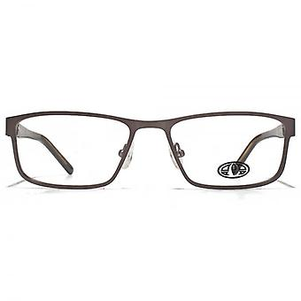 Animal Webbo Square Rectangle Glasses In Brown