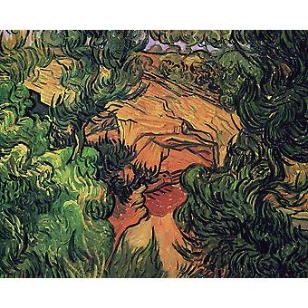 Vincent Van Gogh - Entrance to a Quarry, 1889 Poster Print Giclee
