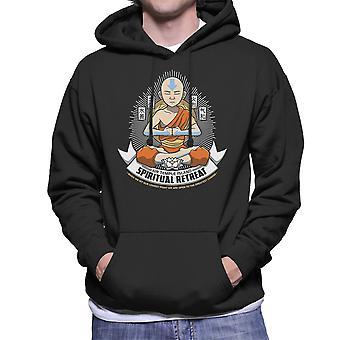 Spiritual Retreat Avatar The Last Airbender Men's Hooded Sweatshirt