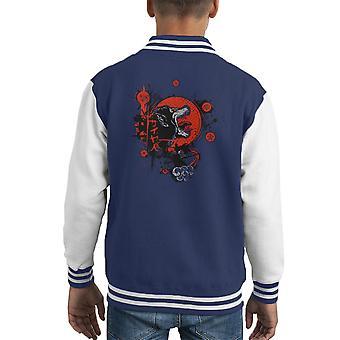 Traditional Saiyan Dragonball Z Kid's Varsity Jacket