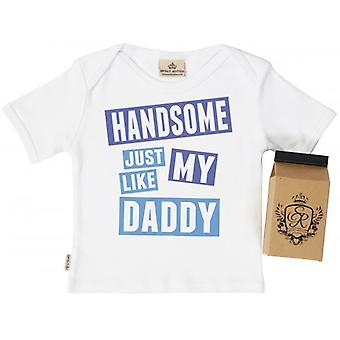Spoilt Rotten Handsome Like Daddy Toddler T-Shirt