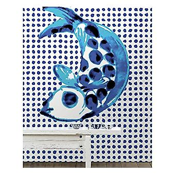 Addiction Wallpaper Fish & Dots by Paola Navone