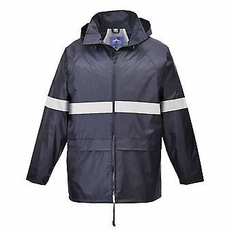 Portwest - klassische Iona reflektierende Workwear Regenjacke