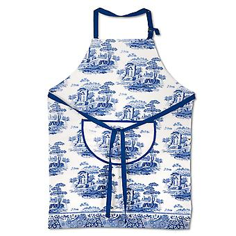 Portmeirion Blue Italian Cotton Apron
