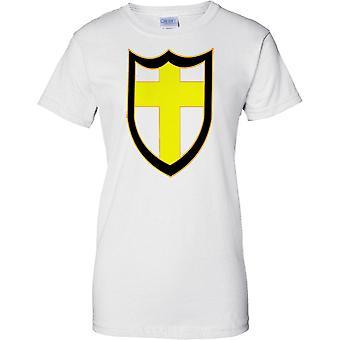 Licensed MOD -  British 8th Army Insignia - WW2 - Ladies T Shirt