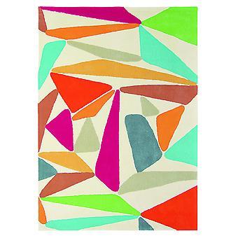 Xian trekanter Art Deco geometrisk tæppe - Brink & Campman