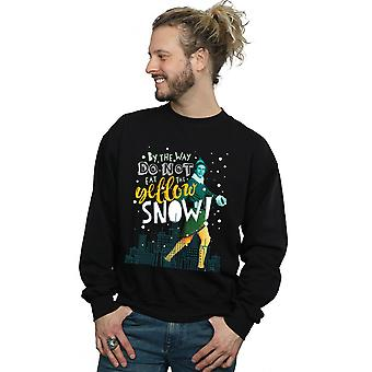 Elf Men's Yellow Snow Sweatshirt