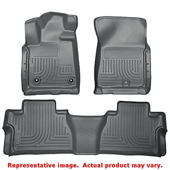Husky Liners 99582 Grey WeatherBeater Front & 2nd Seat  FITS:TOYOTA 2014 - 2014