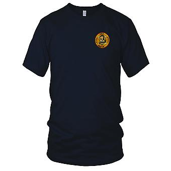 CCN Recon Team RT MISSOURI - US Army MACV-SOG Special Forces - Vietnam War Embroidered Patch - Mens T Shirt