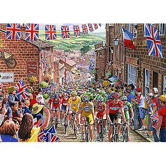 Gibsons Le Tour de Yorkshire Jigsaw Puzzle (1000 Pieces)