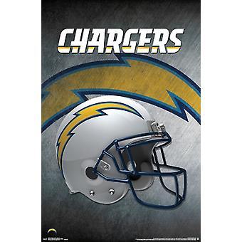 San Diego Chargers - Helm 16 Plakat Poster drucken