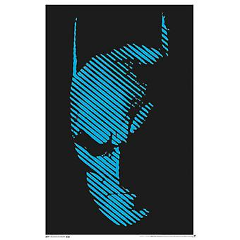 Black Light - Batman Poster Poster Print
