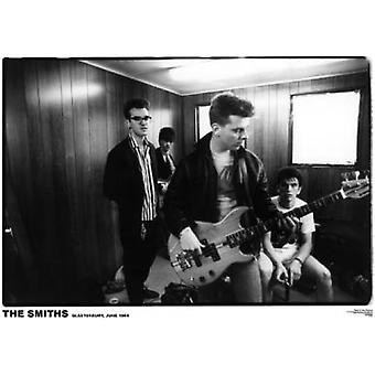 Smiths Glastonbury Glastonbury 1984 Poster Poster Print