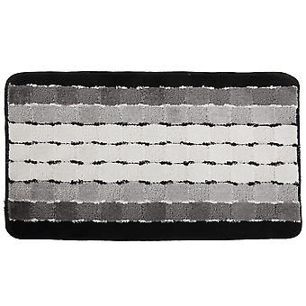 Chequered Striped Design Door Mat (6 Colours)