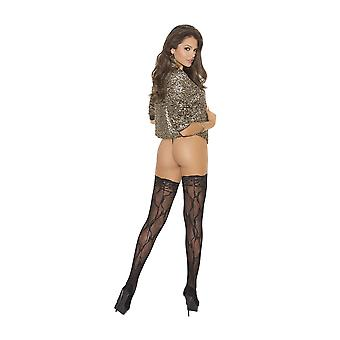 Elegant Moments  EM-1792 All Lace Thigh Hi Stockings