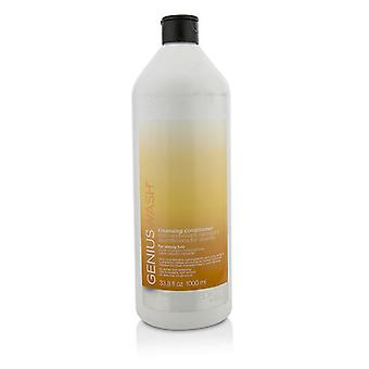 Redken Genius Wash Cleansing Conditioner (For Unruly Hair) - 1000ml/33.8oz