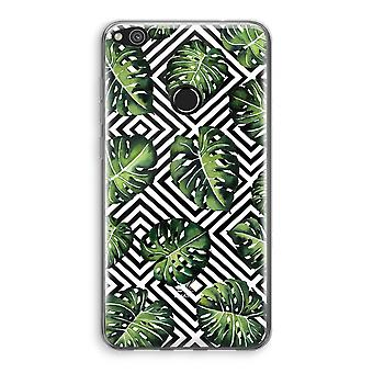 Huawei Ascend P8 Lite (2017) Transparant Case - Geometric jungle
