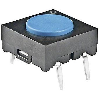 Pushbutton 24 Vdc 0.05 A 1 x Off/(On) NKK Switches
