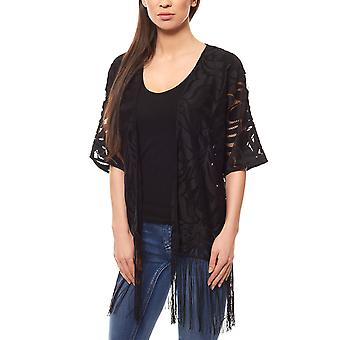 Rick cardona by heine lace Jacket Women's jacket black