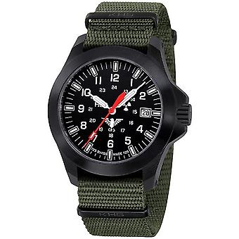 KHS horloges mens watch zwarte peloton LDR KHS. BPLDR.NO