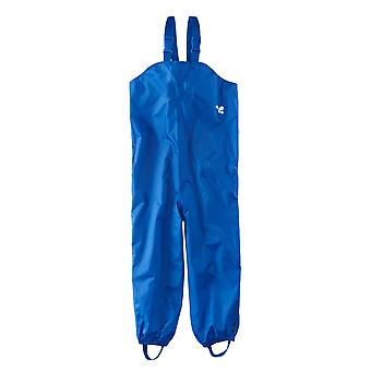 Childrens Waterproof Dungarees - Royal Blue Protective kids overalls rainwear