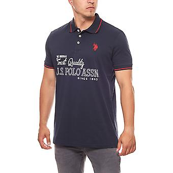 U.S. POLO ASSN. Polo T-shirt limited edition men's Navy