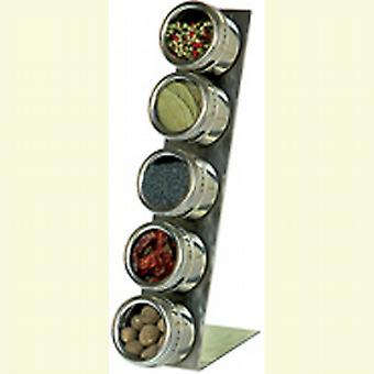 Soho Spice Rack and L- base 5 spice jars SHS1850005