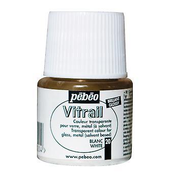 Pebeo geslepen oplosmiddel transparant glas verf 45ml