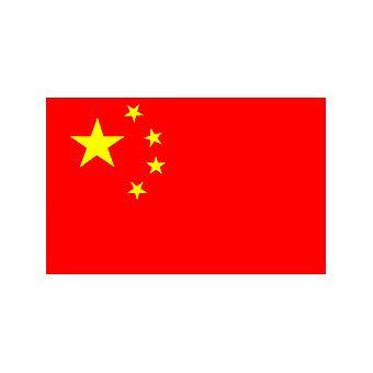 Kinesisk flagg 5 ft x 3 ft med hull For hengende