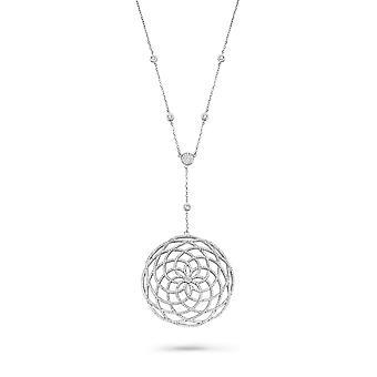 Orphelia sølv 925 halskæde med vedhæng Zirconium ZK-7215