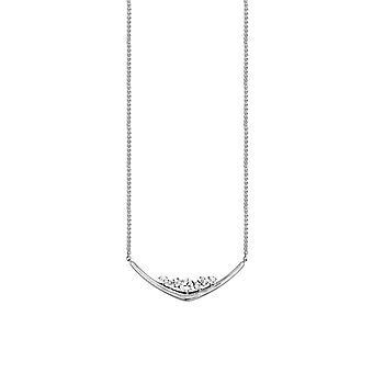 Joop Damen Kette Halskette Edelstahl Silber Simply Modern JPNL00004A420