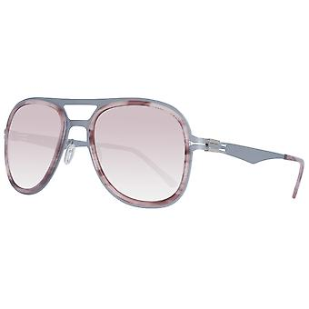 Greater than infinity sunglasses silver