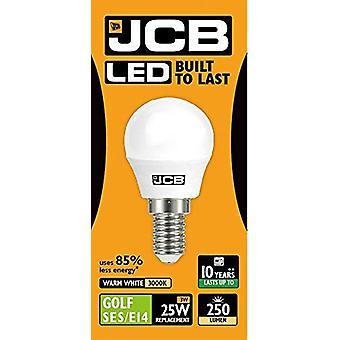 1 أدى X JCB 3 وات = 25w SES/E14 ملعب الكرة المصابيح ملولبة 250lm الحارة الأبيض ك 3000 غير عاكس [الطاقة الفئة A +]